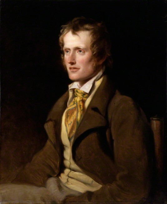 NPG 1469; John Clare by William Hilton